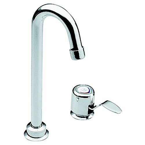 Chrome One-Handle High Arc Bar Faucet