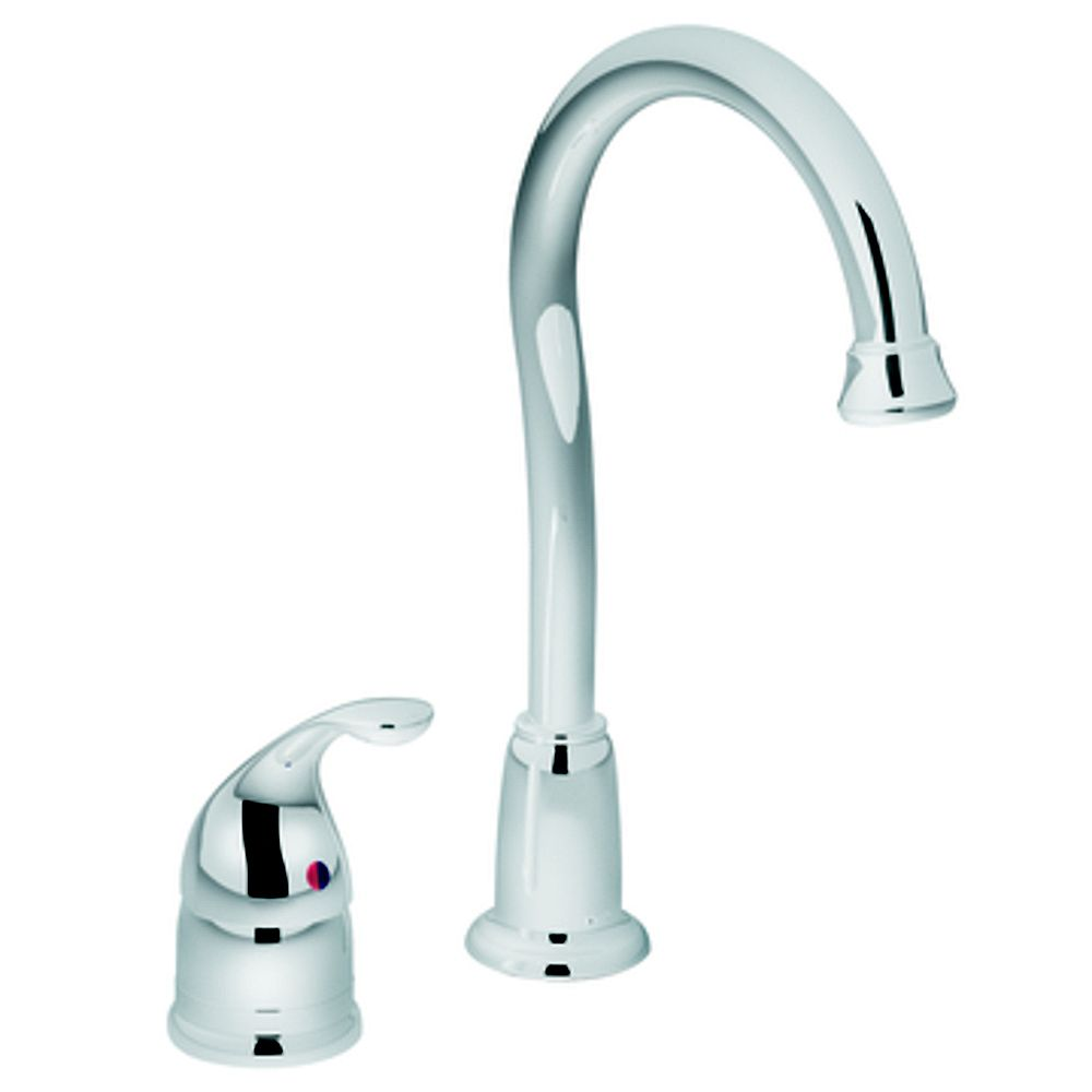 MOEN Camerist Single-Handle Bar Faucet in Chrome
