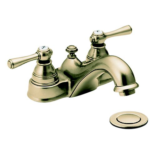 Kingsley 2-Handle Bathroom Faucet in Antique Bronze Finish