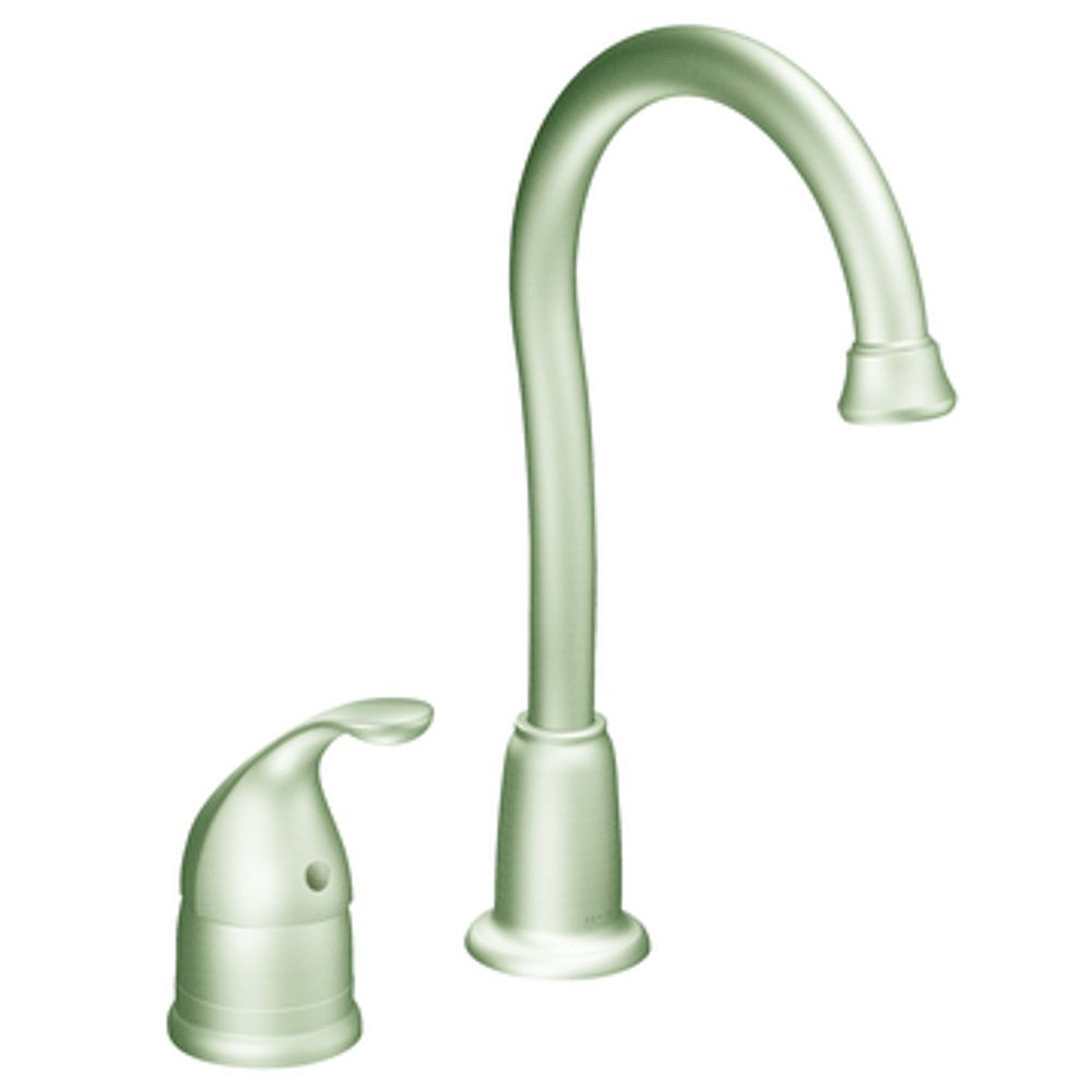 MOEN Camerist 1 Handle Bar Faucet - Classic Stainless Finish