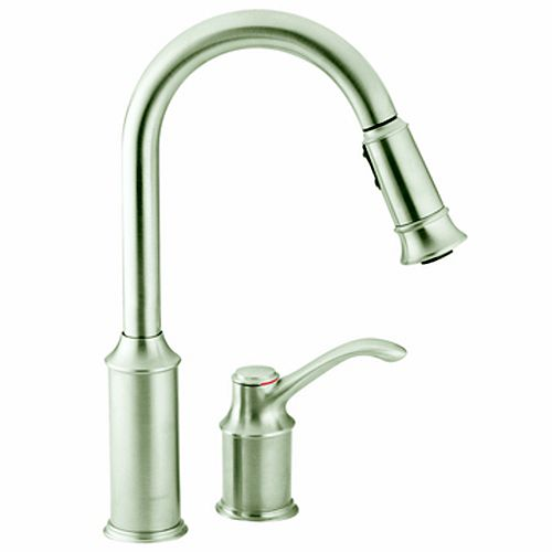 Stainless One-Handle High Arc Pulldown Kitchen Faucet