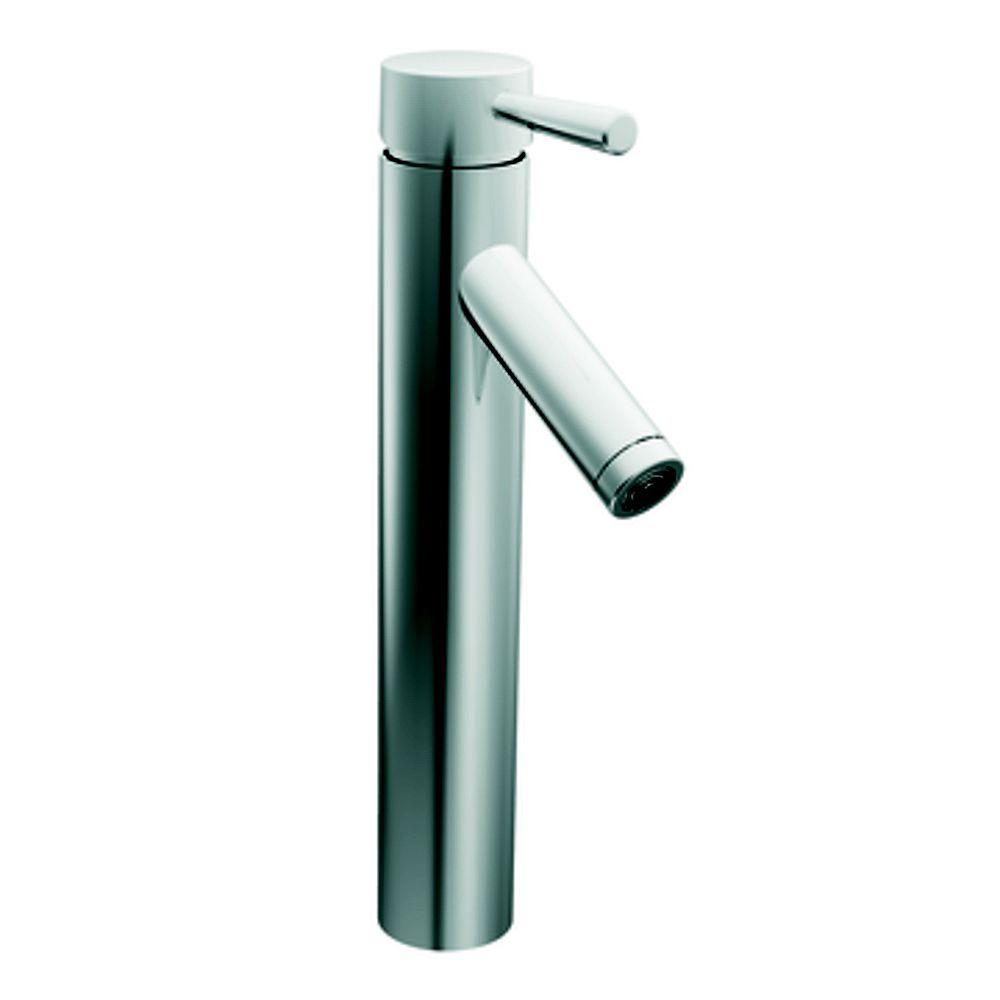 MOEN Level Single-Handle Bathroom Faucet in Chrome Finish