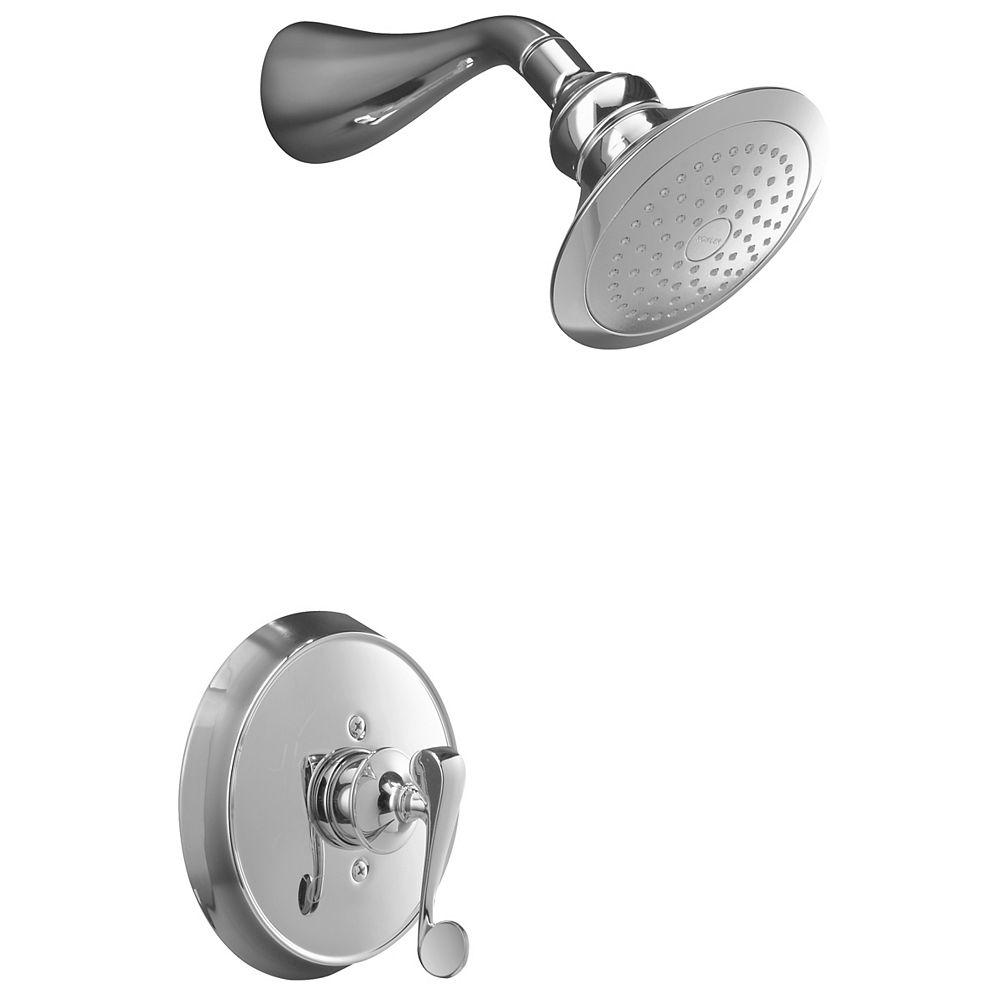 KOHLER Garniture de robinet à régulation de pression Fairfax Rite-Temp avec poignée à levier à rouleau