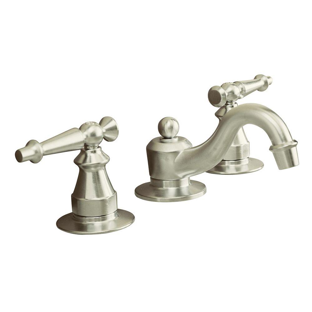 KOHLER Robinets de lavabo à large entraxe Antique avec poignées à levier