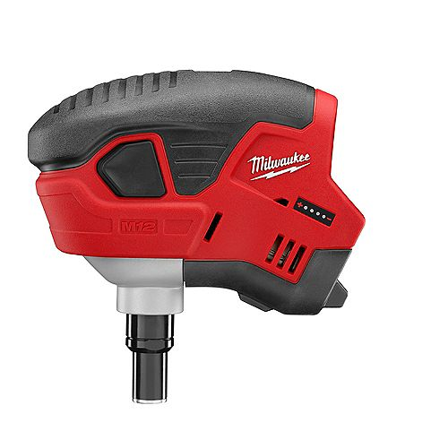Milwaukee Tool M12 12V Lithium-Ion Cordless Palm Nailer (Tool Only)