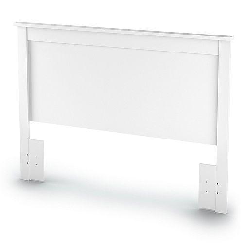 Bel Air Queen-Size 65-inch x 46-inch x 3-inch Headboard in Pure White
