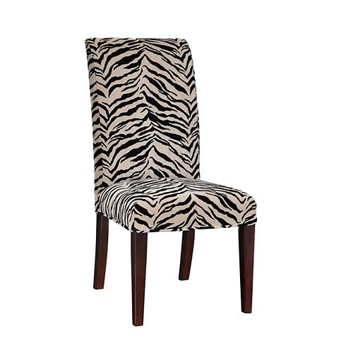 White & Onyx Tiger Striped Slip Over - Pack 1 (Fits 741-440 Chair)