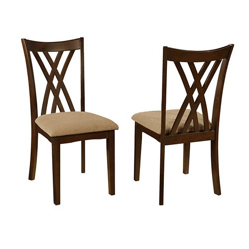 Stafford Espresso Side Chair (Set of 2)