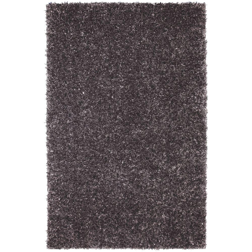 Mohawk Home Shimmer Shag Grey 5 ft. x 8 ft. Rectangular Area Rug