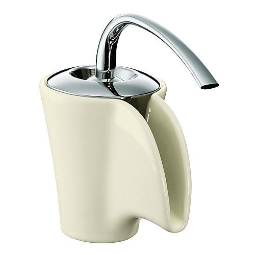 Vas Single-Control Ceramic Lavatory Faucet In Biscuit