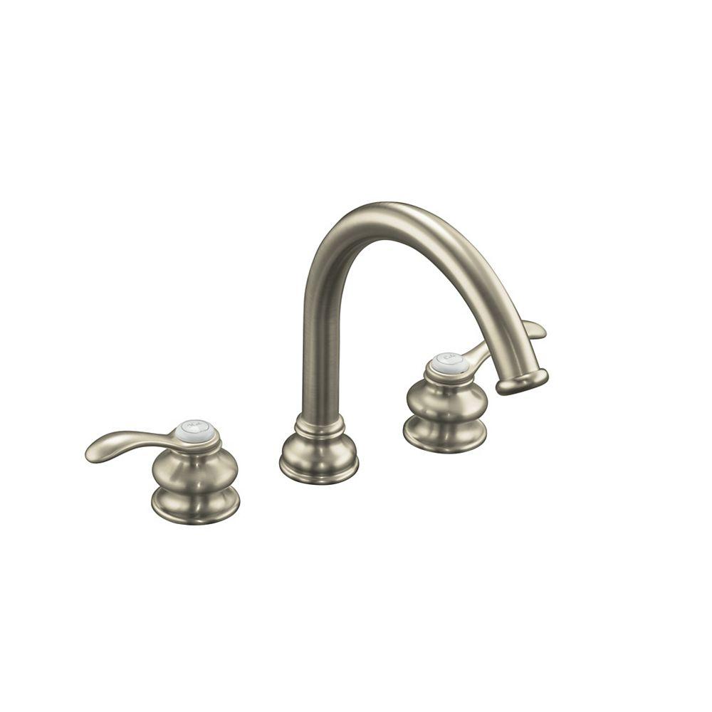 KOHLER Fairfax(R) deck-mount bath faucet trim with lever handles