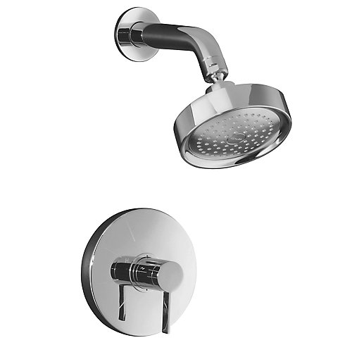 Stillness Rite-Temp Pressure-Balancing Shower Faucet in Polished Chrome