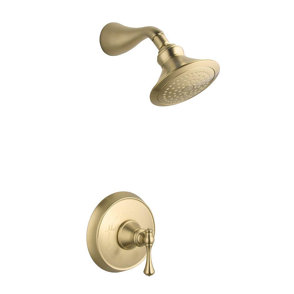 KOHLER Revival Rite-Temp Pressure-Balancing Shower Faucet in Vibrant Brushed Bronze