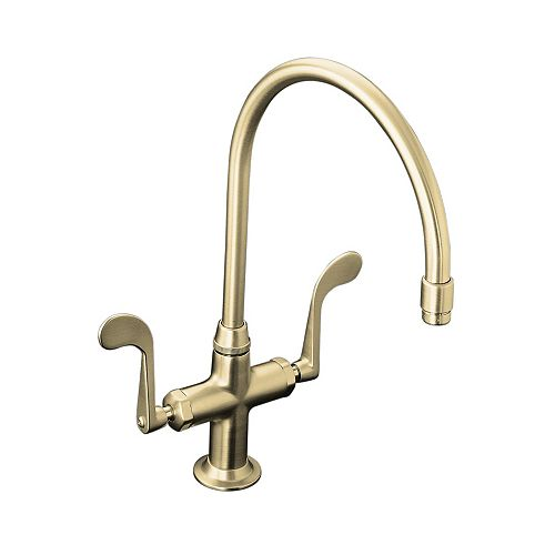 Essex Two-Handle Sink Faucet In Vibrant Brushed Nickel