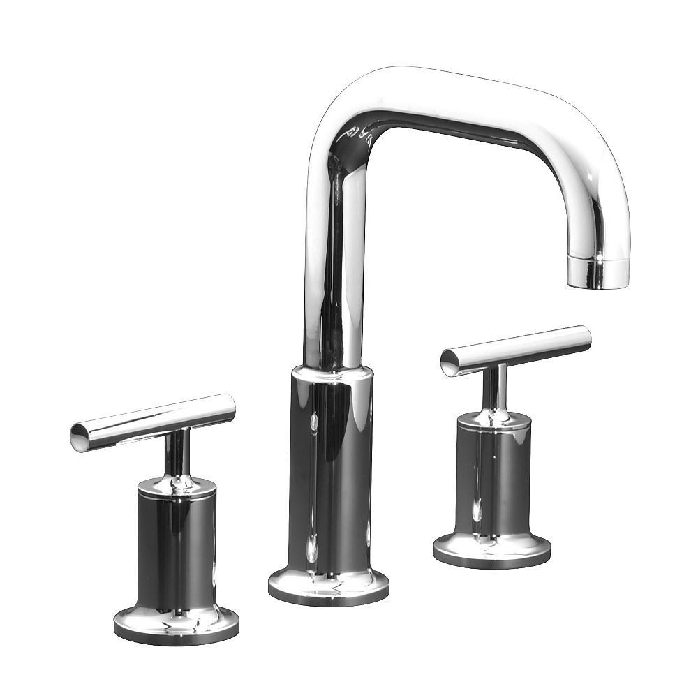 KOHLER Robinetterie de baignoire Purist® a montage en surface pour robinet a haut debit