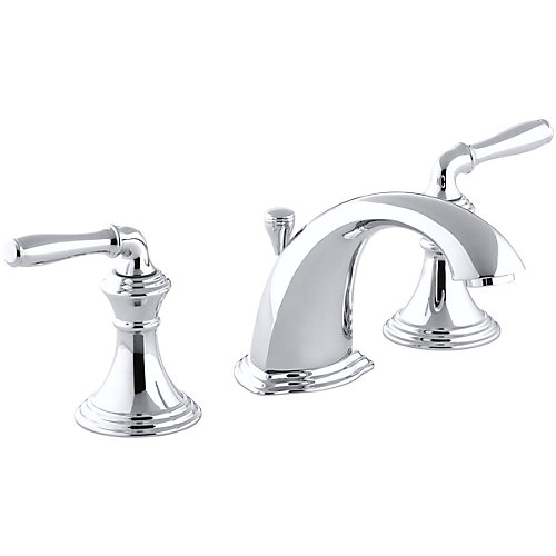Devonshire(R) widespread bathroom sink faucet with lever handles