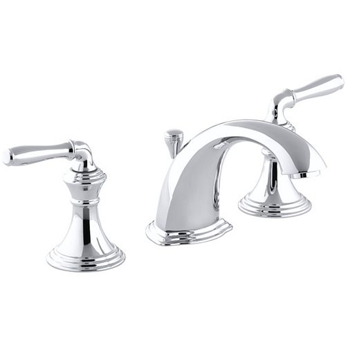 Devonshire 8-inch Widespread 2-Handle Low-Arc Bathroom Faucet in Polished Chrome