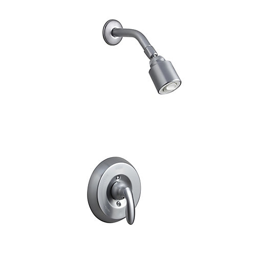 Coralais Mixing Valve Shower Faucet in Brushed Chrome