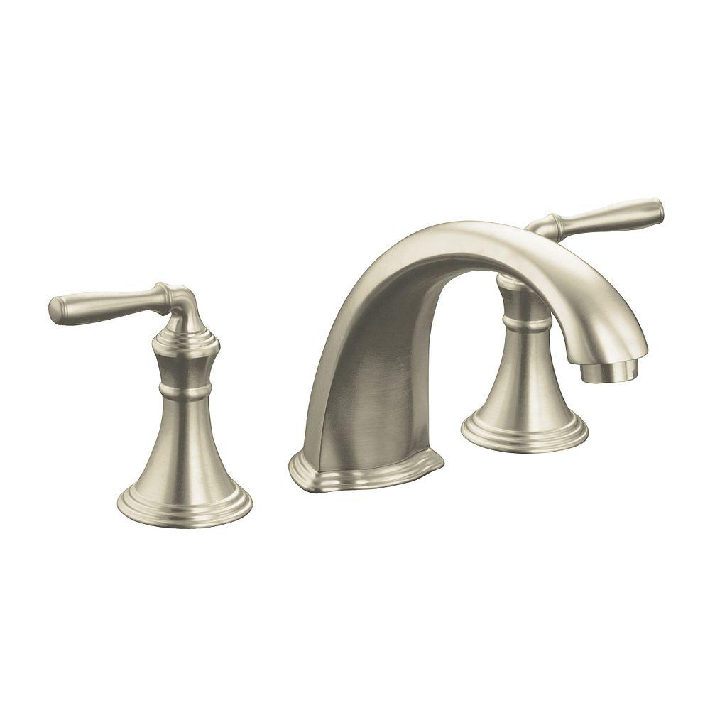 """KOHLER Devonshire(R) deck-/rim-mount bath faucet trim for high-flow valve with 9"""" non-diverter spout"""