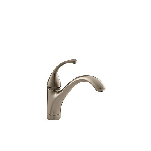 Forté Single-Control Kitchen Sink Faucet With Lever Handle In Vibrant Brushed Bronze