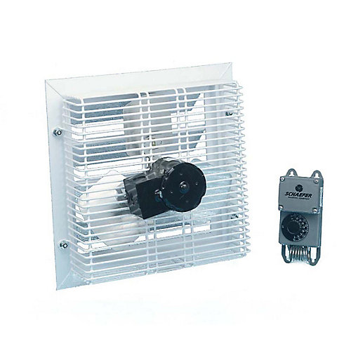 Phoenix Solar Shed Power Fan with Thermostat