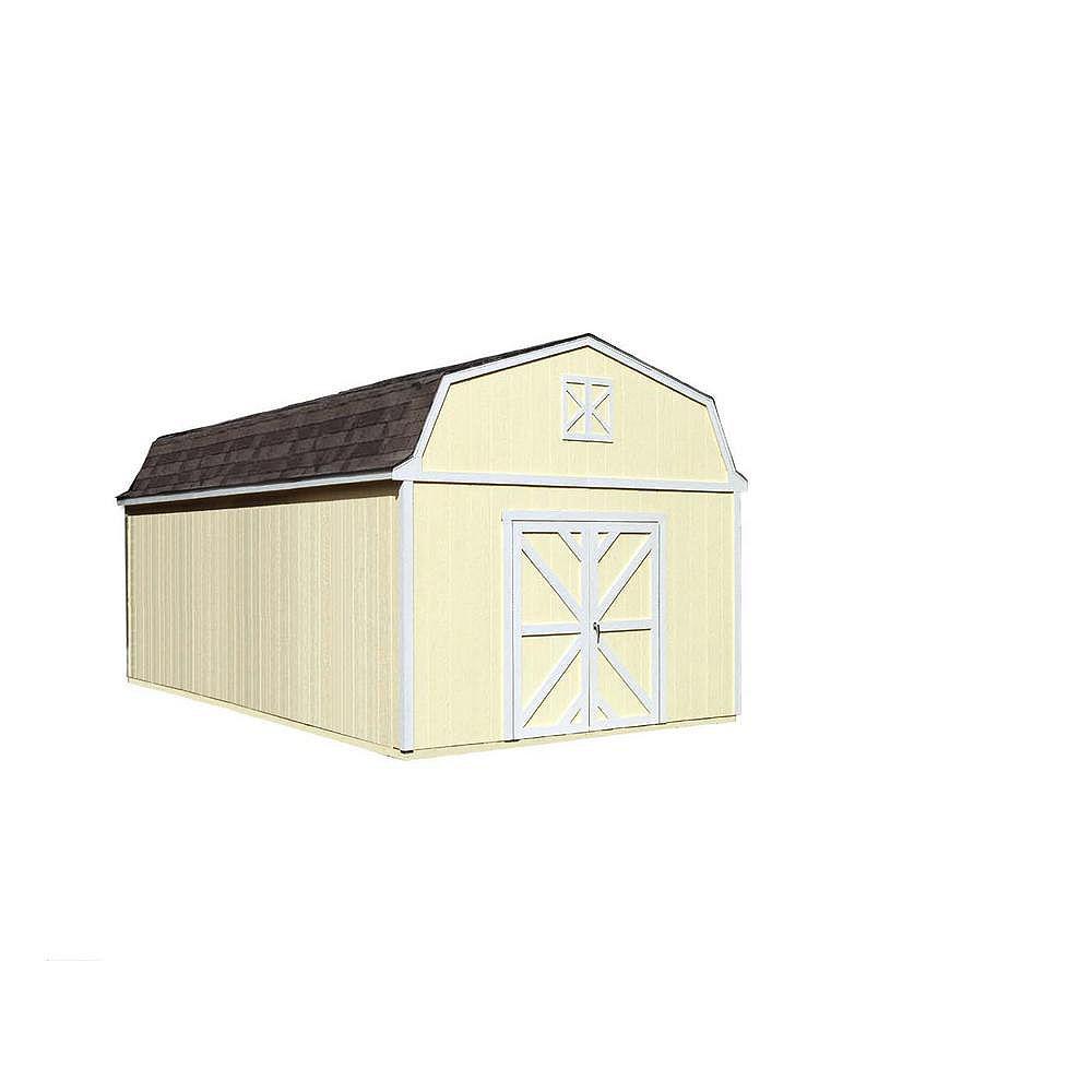 Handy Home Products Séquoia Trousse d'abri de rangement avec plancher (12 Pi. X 20 Pi.)