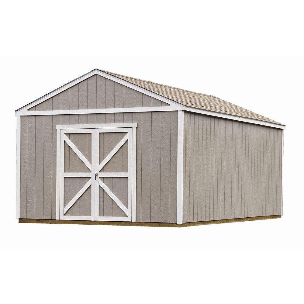 Handy Home Products Columbia Trousse d'abri de rangement avec plancher (12 Pi. X 20 Pi.)
