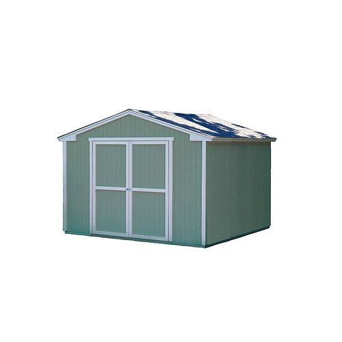 Cumberland Storage Building Kit with Floor -   (10 Ft. x 8 Ft.)