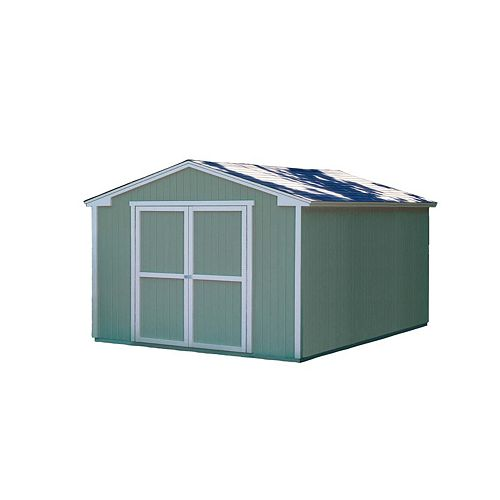 Cumberland  Storage Building Kit with Floor -  (10 Ft. x 16 Ft.)