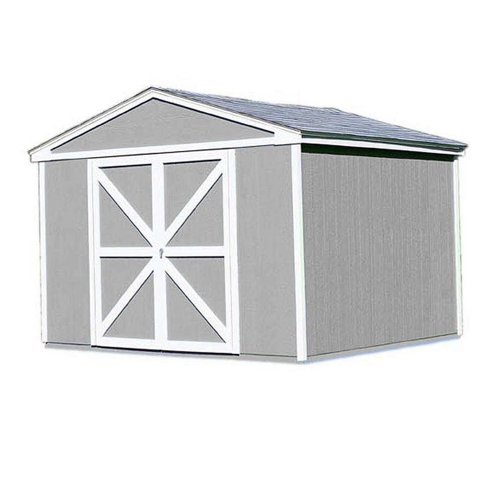 Handy Home Products 10 ft. x 10 ft. Somerset Storage Building Kit