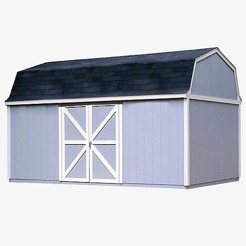 Berkley Trousse d'abri de rangement avec plancher (10 Pi. X 18 Pi.)