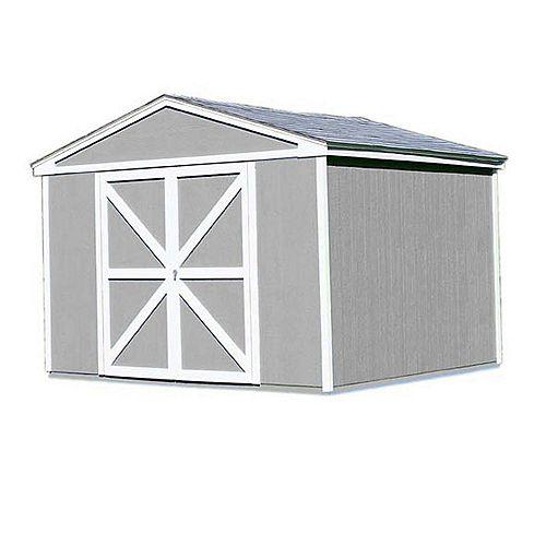 Somerset Trousse d'abri de rangement avec plancher (10 Pi. X 12 Pi.)