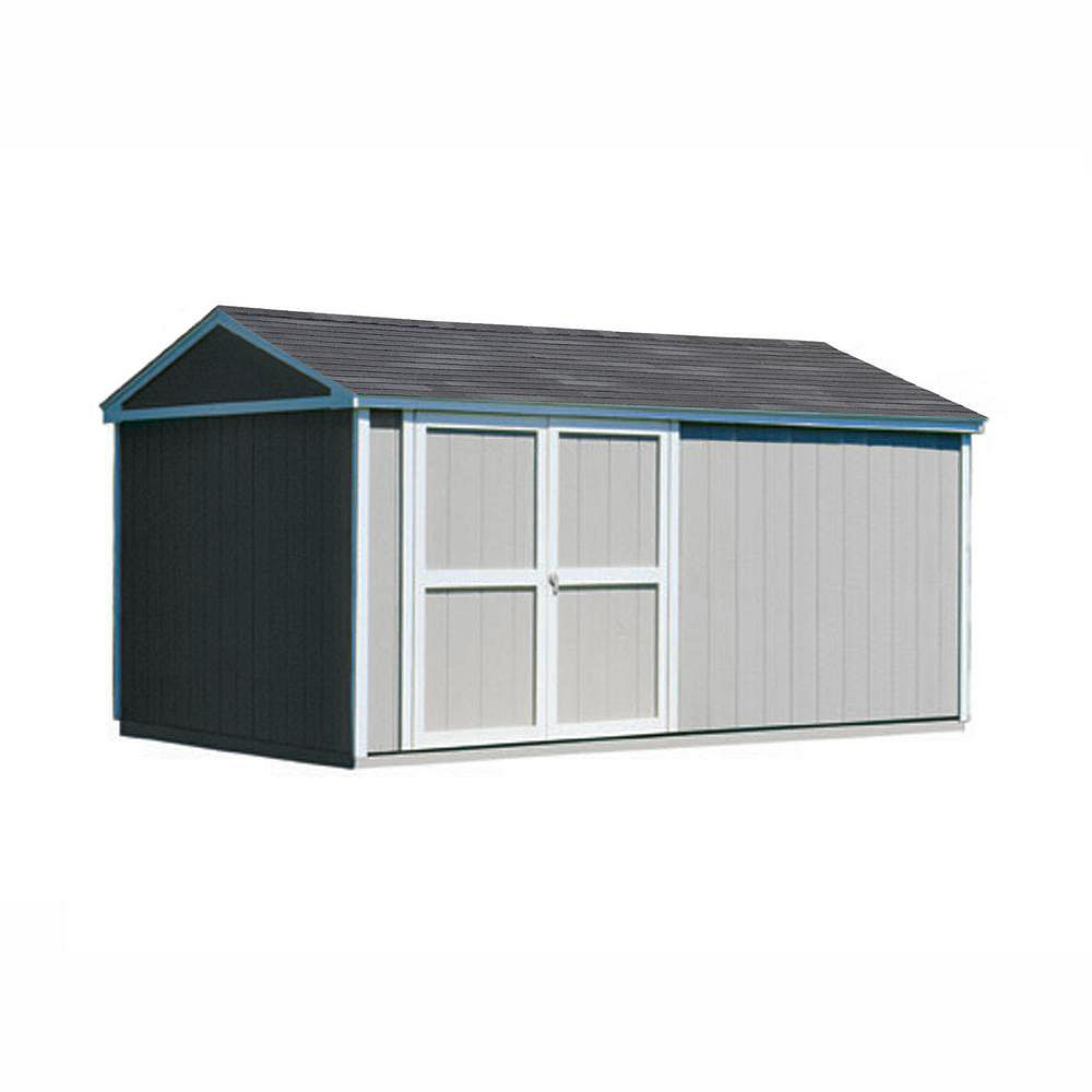 Handy Home Products Somerset 10 ft. x 16 ft. Storage Building Kit