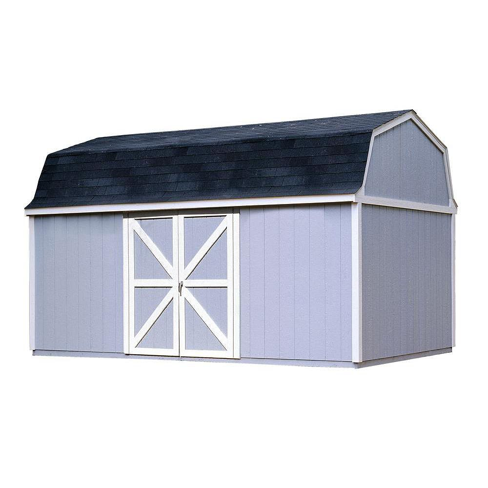 Handy Home Products Berkley 10 ft. x 16 ft. Storage Building Kit