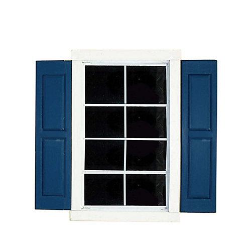 Volets de petite fenêtre carrée (paire)