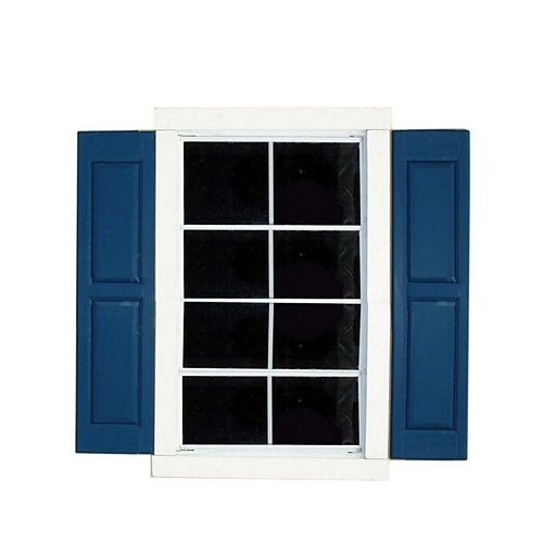 Handy Home Products Small Square Window Shutters (2-Pack)