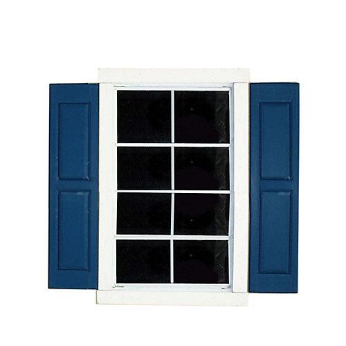 Volets de large fenêtre carrée (paire)