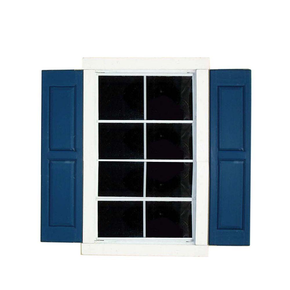 Handy Home Products Volets de large fenêtre carrée (paire)