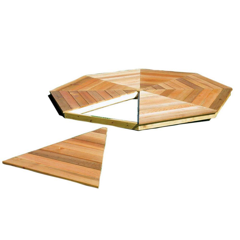 Handy Home Products Monterey 10 ft. x 14 ft. Gazebo Floor Kit