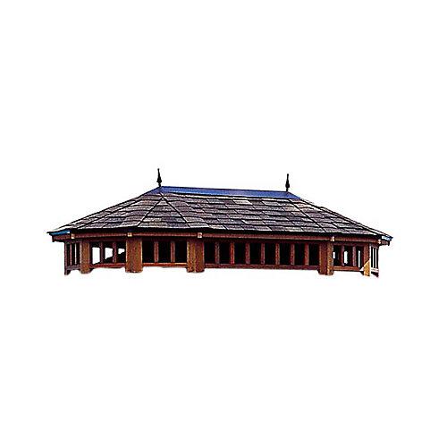 Monterey 10 pi (3 m) X 14 pi (4,3 m) - toit à deux niveaux