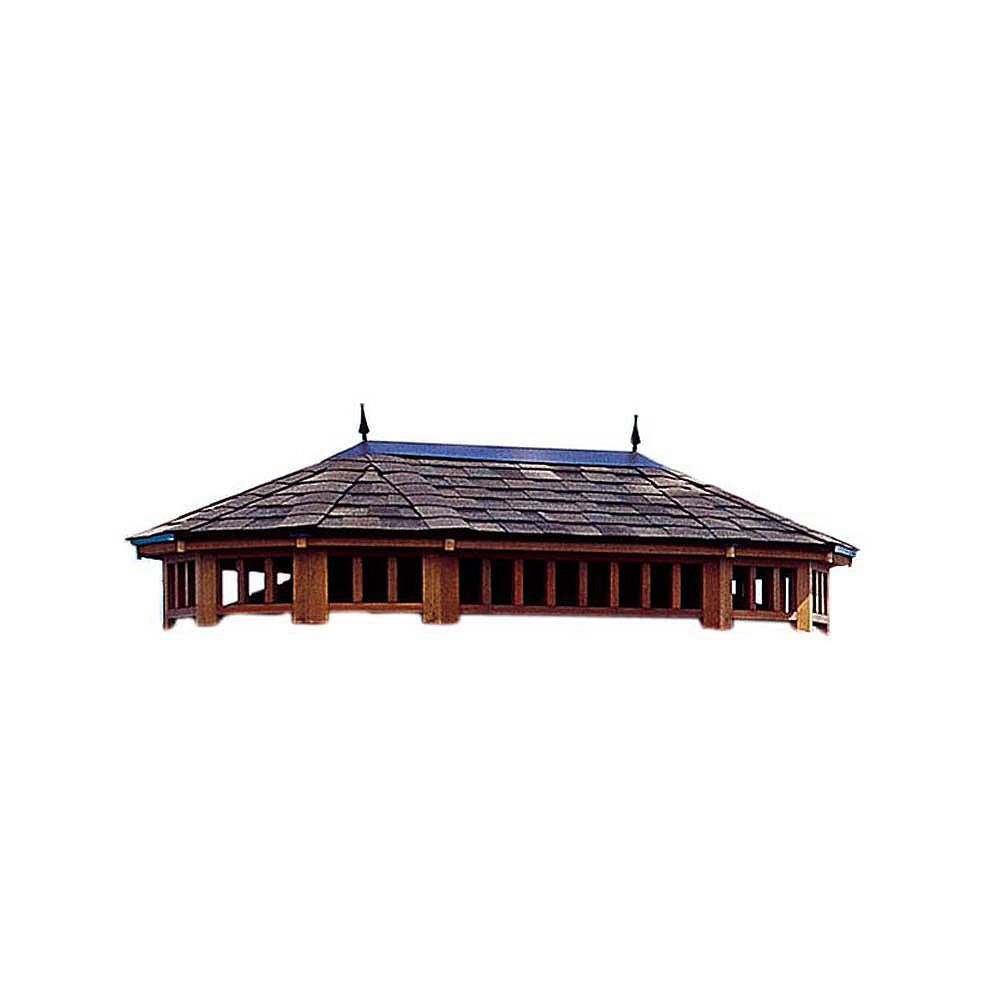 Handy Home Products Monterey 12 ft. x 16 ft. Two Tier Roof
