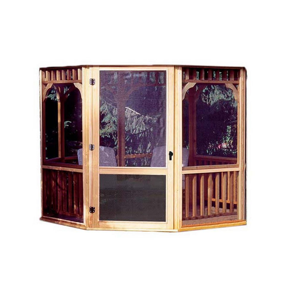 Handy Home Products Monterey 10 ft. x 14 ft. Screen Kit with Door