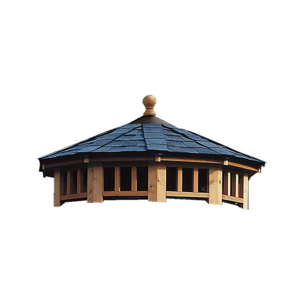 Handy Home Products San Marino 10 ft. Two Tier Roof