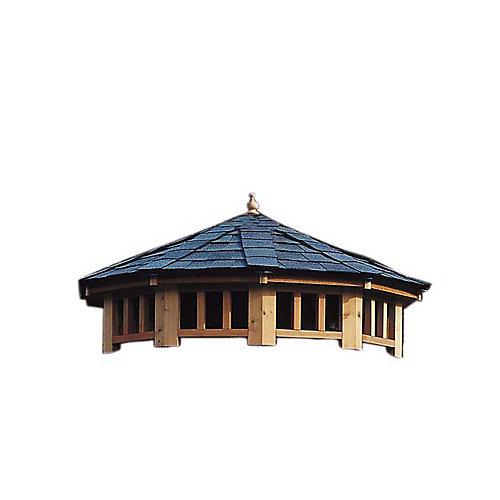 San Marino 12 pi (3,6m) - toit à deux niveaux