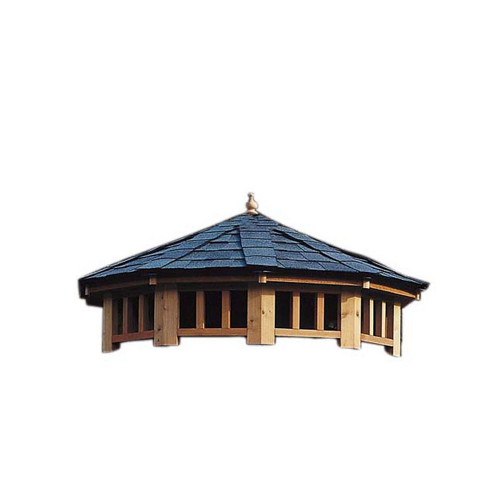 Handy Home Products San Marino 12 ft. 2-Tier Gazebo Roof