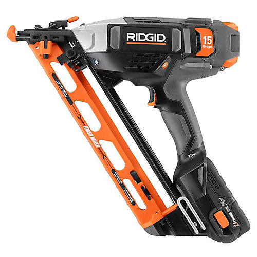 18V Lithium-Ion 15 Gauge Angled Finish Nailer