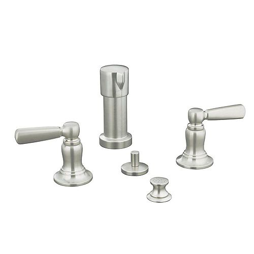 KOHLER Bancroft Bidet Faucet in Vibrant Brushed Nickel