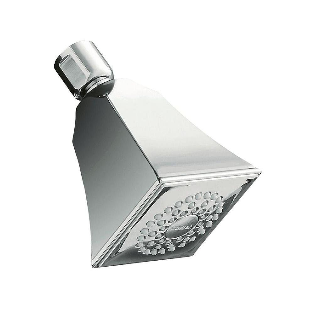 KOHLER Memoirs Single-Function Showerhead with Stately Design in Polished Chrome