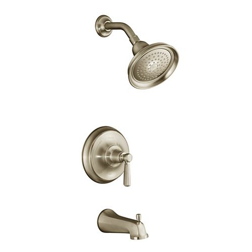 KOHLER Bancroft Rite-Temp Pressure-Balancing Bath/Shower Faucet in Vibrant Brushed Bronze