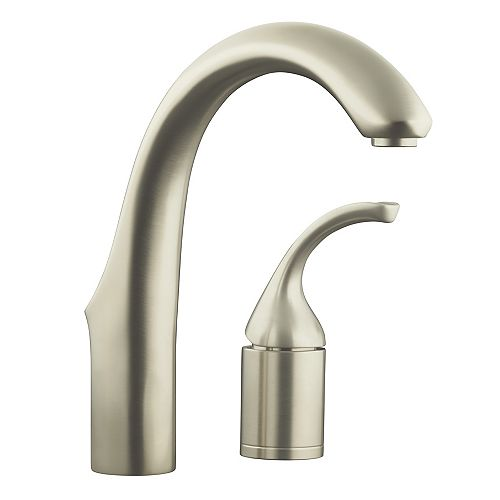 Forté Single Handle Bar Faucet in Vibrant Stainless